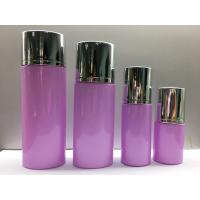 China Glass Pump Bottles Cosmetic Container Recycled Glass Cosmetic Packaging Lotion Bottles wholesale