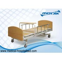 Multifunction Manual Patient Nursing Home Beds With Side Rails