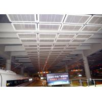 China Interior Galvanized Iron Wire Expanded Metal Mesh Ceiling , Powder Coating Suspended Metal Ceiling Tiles on sale