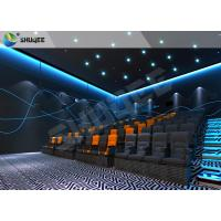 China Professional 4D Cinema Equipment With Special Effects And Movement Chairs wholesale