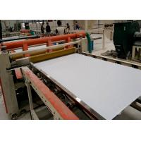 China Automatic and semi automatic PVC LAMINATED GYPSUM CEILING TILES making machine and prodution line wholesale