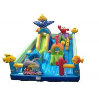 China Kids Inflatable Bounce Castle combo Inflatable fun bounce house for sale wholesale