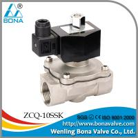 China ZCQ-10SSK stainless steel solenoid valve wholesale