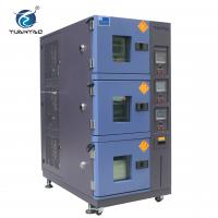 China Air Cooling Type 3-layer Climatic Temperature Humidity Test Chamber wholesale