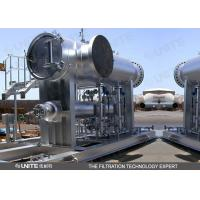 China Remove solid particles from natural gas filter separator Vertical or horizontal on sale