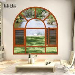 China Strong Aluminium Frame Casement Window / Luxury House Aluminum French Windows on sale
