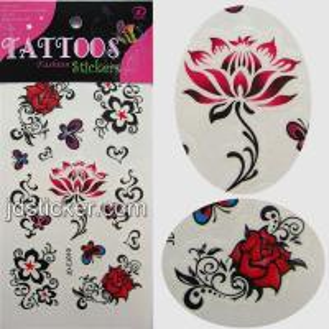 China color body tattoo sticker wholesale
