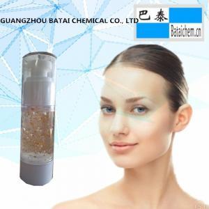 Buy cheap Le silicone de protection de visage a basé l'amorce de maquillage sans couleur composent le gel bas avec Goldleaf from wholesalers