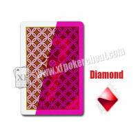 China Aribic JDL Standard  Size Plastic Invisible Marked Playing Cards For Contact Lens wholesale