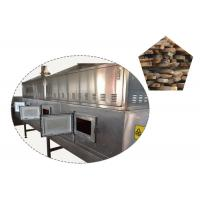 China CE Certification Microwave Wood Drying Equipment One Year Warranty wholesale
