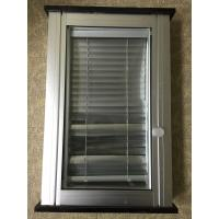 China 1.2mm Clear PVC Glass Window Shutters / Rolling Adjustable Louvers Window wholesale