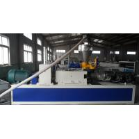 China Window and Door Frame Plastic Profile Extrusion Line , Ceiling / Couch Profile Machine wholesale