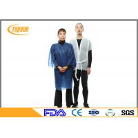 China Colorful Disposable SPA Products Disposable Bath Robes / sauna gown suit For Hotel / Home wholesale