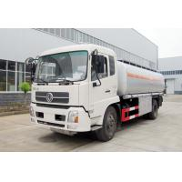 China Oil Dispenser Fuel Delivery Truck Q235 Carbon Steel Material Left Hand Driving wholesale