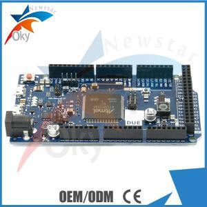 China DUE R3 Board For Arduino , SAM3X8E 32-bit ARM Cortex-M3 Control Board wholesale