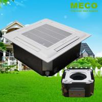 China Chilled Water ceiling cassette Fan Coil Unit-200CFM with build in drain pump wholesale