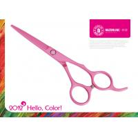 China R10 Pink Teflon Coating Convex-edge Stainless Steel Barber Hair Scissor Sharpener wholesale