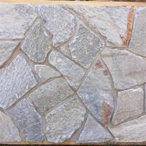China Random Loose Grey Limestone Stacked Stone , Decor Exterior Stacked Stone wholesale