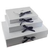 China CMYK Printing Garment Packaging Boxes , Fashionable Dress Packing Boxes wholesale