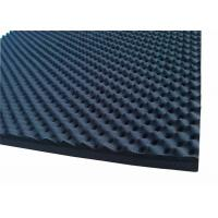 China Egg Shaped Acoustic Rubber Foam Sound Proofing Material 50mmRubber Acoustic Foam on sale