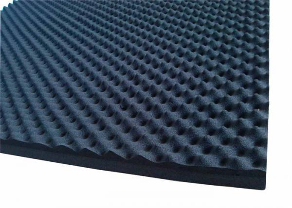 Quality Egg Shaped Acoustic Rubber Foam Sound Proofing Material 50mmRubber Acoustic Foam for sale