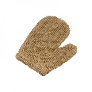 Buy cheap Luvas Exfoliating 21x16 cm do banho do cânhamo natural da lavagem do corpo com polegar from wholesalers