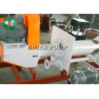 China Rubber Lined Corrosive Vertical Slurry Pump , Semi Open Horizontal Submersible Pump on sale