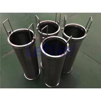 China Paints Filters Johnson Wire Screen Non - Clogging Construction ISO Certification wholesale