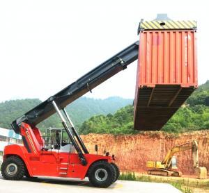 Fabricante de empilhador de alcance de contêiner de 45 toneladas 45 T empilhador de contentores empilhador de alcance de