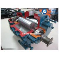 High Air Capacity Roots Rotary Lobe Blower 125 Mm Bore For Drying Systems