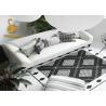 China 100% Polyester Machine Washable Kitchen Mats , Decorative Kitchen Rugs Anti Slip wholesale