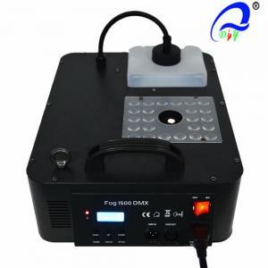China 1500w RGB 3-In-1 Stage Fog Machine 2.5L DMX512 Smoke Machine With 24 * 3w Light wholesale