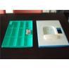 China Quatre casiers en plastique verts H1810 * W310 d'école de rangée * D460mm avec le trèfle Keyless wholesale