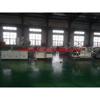 China plastic single wall corrugated pipe manufacturing plant on sale