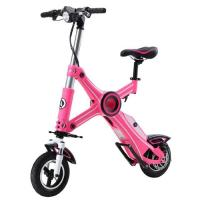 China Foldable Electric Scooter Pink With Seat wholesale