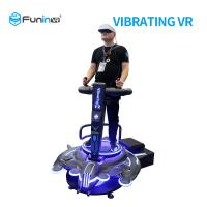 China 220V VR Vibration Platform 9D Virtual Reality Game Flight Simulator For Scenic wholesale