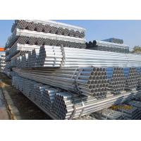 Corrosion Resistance Galvanized Fence Pipe 48.3 * 3.2 / 4mm With Protective Coatings