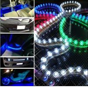China Dip 5MM RGB side emitting led strip light on sale