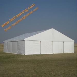 China Ourdoor Aluminum Warehouse Storage Tent, Waterproof Fire Resistardant Tent wholesale