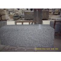 China Eased Edge White Granite Slab Countertops Granite Vanity Tops For Bathroom on sale