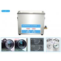 China SUS304 Tanks Ultrasonic Cleaning Machine With 450W Heating Power 10L on sale