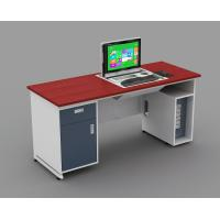 Dustproof High Density MDF Teacher Computer Lab Tables For Schools ISO14001