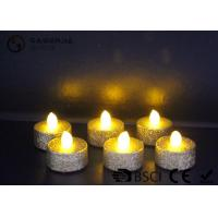 China Indoor / Outdoor Led Tea Light Candles With Dusted  Long Operating Life set of 6 wholesale