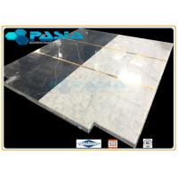 Buy cheap Water Jet Cut / Jointed Pattern Marble Honeycomb Stone Panels Mosaic Tile from wholesalers
