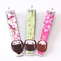 China Novelty Design Printed Promotional Nail Clippers Key Rings For Personalization wholesale