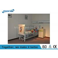 China Five Function Electric Pediatric Hospital Beds With Telescopic Aluminum Alloy Side Rails wholesale