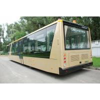 China 4 Stroke Diesel Engine Airport Apron Bus , International Airport Coaches on sale