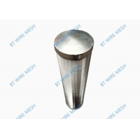 China Stainless Steel 0.2mm Slot Wedge Wire Filter Elements wholesale