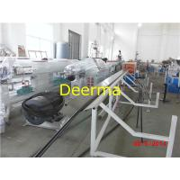 China 160mm HDPE Pipe Extrusion Machine For Water Pipe / Single Screw Extruder Machine wholesale