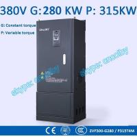 China 280kw/315kw Variable-Frequency Drive G/P VFD Vector Control Transducer AC drive AC-DC-AC inverter 50Hz/60Hz frequency wholesale